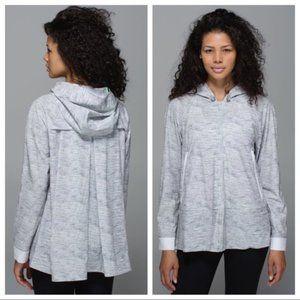 Lululemon Sun Showers Jacket Heathered Silver